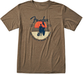 Fender Sunset Spirit T-Shirt, Olive, (Medium)