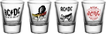 GB eye AC/DC Mix Shot Glasses (4 x 20ml)