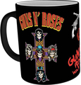 GB eye Guns N' Roses Cross Heat Change Mug (10oz - 300ml)