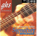 GHS Laurence Juber Signature Bronze / Acoustic Guitar String Set (light / .012-.054)