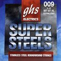 GHS Super Steels Stainless Steel Roundwound Strings / ST-XL (9-42 - extra light)