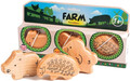 Gewa Campanilla Percussion Set Animal shakers / Farm Set (3-parts)