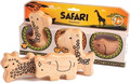 Gewa Campanilla Percussion Set Animal shakers / Safari Set (3-parts)