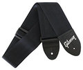 Gibson Nylon Uni / Black AS GSB-10 (Black) Guitar Straps