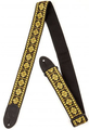 Gretsch G Brand Strap - Diamond Pattern (black ends)