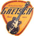 Gretsch Pick Vintage Tin Sign
