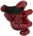 Grip Studios Guitar Grip - Male Hand - Red Metallic (left)