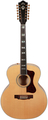 Guild F-512E Maple - 12 String (blonde - with D-TAR Multi-Source Pickup)