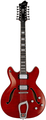 Hagstrom Viking Deluxe 12-String (wild cherry transparent)