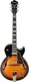 Ibanez GB10 (Brown Sunburst) E-Gitara Archtop Jazz Modely