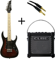 Ibanez GRGM21M + Micro Cube + Cable SET (walnut sunburst)