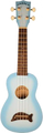 Kala Makala Soprano Ukulele (light blue burst)
