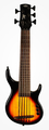 Kala Solid Ubass - Fretted - 5 string (tobacco sunburst)