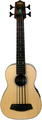 Kala Ubass Spruce Top - Fretted (natural - lefthand)