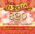 La Bella 820 Elite - Flamenco, Red Nylon