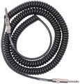 Lava Cable Retro Coil / 7.5m/BK (black, straight to straight)