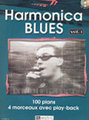 Lemoine Harmonica Blues Vol 1 Herzhaft David / 100 Plans