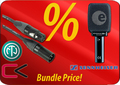 Sennheiser e 906 + Contrik Cable-Set Specials