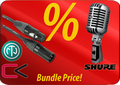 Shure 55SHSII + Contrik Cable-Set Elvis Style Specials