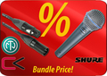 Shure Beta 58A + Contrik Cable-Set Specials