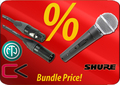 Shure SM58S + Contrik Cable-Set (Switch) Specials