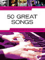 Music Sales 50 Great Songs / Really Easy Piano Songbücher für Klavier & Keyboard