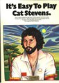 Music Sales It's Easy To Play Cat Stevens