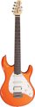 MusicMan Silhouette Special HSS RW Tangerine Pearl