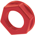 Neutrik Plastic nut (red)