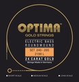 Optima 2199 Light Gold Strings - Long Scale