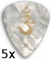 PRS White Pearloid (medium - 5 pieces)