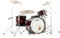 Pearl MRV923XSP/C Masters Maple Reserve 3 pc Shell Pack (red burst triband)
