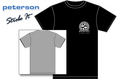 Peterson Strobe T-Shirt (Extra-Large Size / Black)