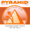 Pyramid Concert guitar 7-string (medium tension)