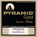 Pyramid Gold Medium/Heavy / Pure Nickel Flat Wound (.012-.052)