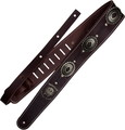 Richter Motörhead Guitar Strap 1567 (brown / old silver) Каишки за китара