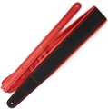 Richter Springbreak I / Guitar Strap / Bass Strap (red/black)