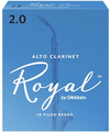 Rico Royal RDB1020 / for Alto Clarinet (10 filed reeds / 2)