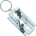 Rock Off Judas Priest Keychain British Steel Razor Blade