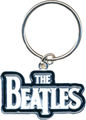 Rock Off The Beatles Keychain Drop T Logo (white)