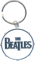 Rock Off The Beatles Keychain Drum Logo