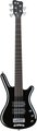 RockBass Corvette $$ 5-String (black highpolish,  passive, fretted)