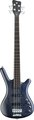 RockBass Corvette Basic 4-String (ocean blue, active, fretted)