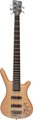 RockBass Corvette Premium 5-String (natural highpolish, active, fretted)