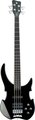 RockBass Vampyre 4-String (black high polish,  active, fretted)