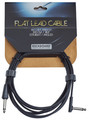 RockBoard Flat Instrument Cable, 300 cm, straight/angled (black)