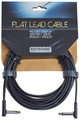 RockBoard Flat Instrument Cable, 600 cm, angled/angled (black)