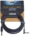 RockBoard Flat Instrument Cable, 600 cm, straight/angled (black)