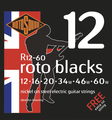 Roto Sound R12-60 / Roto Blacks (custom gauge)