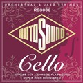 Roto Sound RS3000 Cello Strings Professional Set (chrome flatwound)